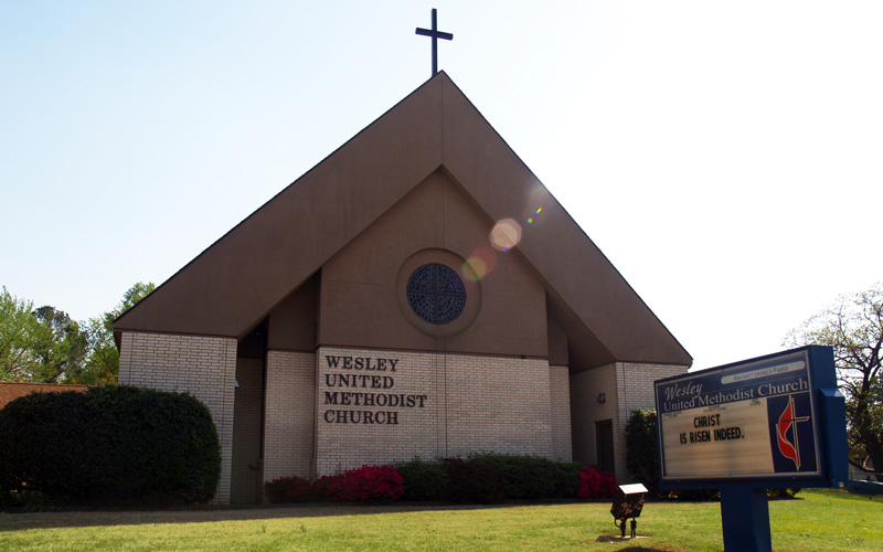 Wesley United Methodist Church Fort Smith Arkansas Church Building
