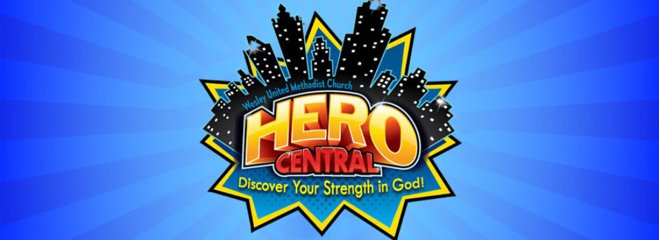 2017 Vacation Bible School Hero Central VBS Wesley United Methodist Church Fort Smith Arkansas