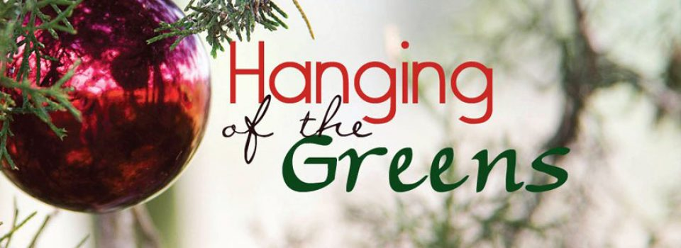 Wesley United Methodist Church Fort Smith Arkansas Hanging of the Greens Christmas Advent Holiday